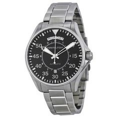 Hamilton Men's Khaki X Wind Automatic Chronograph Men's Watch H77616533 H77616533 - Watches, Hamilton - Jomashop Stainless Steel Bracelet, Stainless Steel Case, Cool Watches, Rolex Watches, Days Of The Week Display, Hamilton Khaki Pilot, Automatic Watches For Men, Casio Watch, Quartz Watch