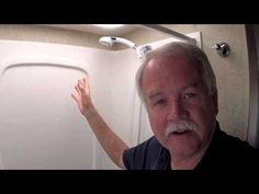 How to take and RV shower using very little water