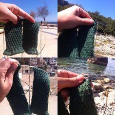 Sticka två strumpor på samma gång? Jajamensan! Du behöver två rundstickor eller magic loop (en rundsticka) Magic Loop, Knitting Socks, Fingerless Gloves, Arm Warmers, Knit Crochet, Garnet, Crocheting, Videos, Tips