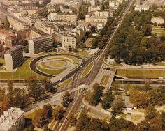 Pl. Na Rozdrożu, 1974 London View, Ppr, Warsaw, Poland, Paris Skyline, City Photo, Cities, Period, Travel