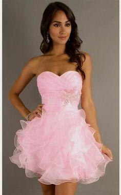 light pink semi formal dresses 2016 » DreaMyDress