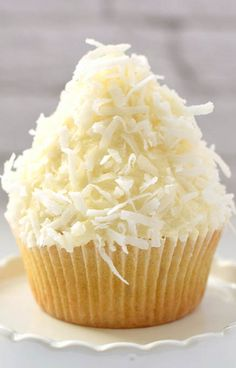 Coconut Cupcakes by Truffles and Trends