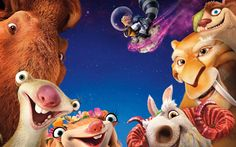 Ice Age Collision Course 5K Animation