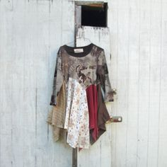 Cowgirl / Rodeo / Upcycled clothing / Patchwork Dress by CreoleSha, $115.00
