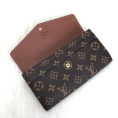 Louis Vuitton Sarah Wallet – Fast Group Design Louis Vuitton Sarah Wallet, Louis Vuitton Monogram, Handbags, Group, Purses, Design, Shoes, Style, Swag