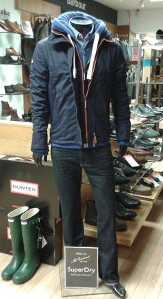 Superdry at McEwens for SS15