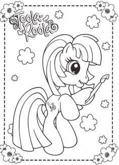my-little-pony-coloring-pages-13 | par Coloringpagesforkids