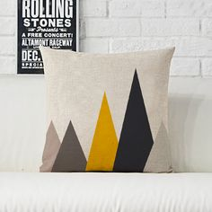 Nordic Symphony geometric abstract animal creative color linen cushions for sofa car home decoration pillows emoticons-in Cushion from Home & Garden on Aliexpress.com   Alibaba Group