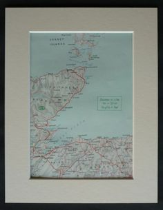 Vintage 1930s map of the North Scottish region around Caithness Some of the towns featured are Inverness Wick Helmsdale South Ronaldsay Dingwall