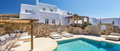 Okyroe - Villa fonte mare a Mykonos con piscina | 5 Camere | 5 Bagni