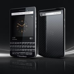 porsche design blackberry P'9983 smartphone reflects automotive style