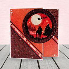 Twilight Kingdom - Luxury Topper Set - Festive Fantasy - A Magical Christmas - Twilight Kingdom Card Kit - Foiled Christmas Card - Christmas Tree And Santa, Magical Christmas, Merry Little Christmas, Christmas Wishes, Christmas Cards, Kanban Crafts, Hunkydory Crafts, Michael Art, Snow Much Fun