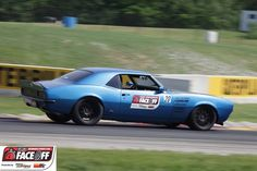 A little track action in this 1st generation Camaro