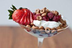 fruit parfait | easy