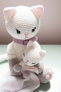 Best 12 Amigurumi Crochet Little Cat Free Pattern Crochet Cat Pattern, Crochet Animal Patterns, Stuffed Animal Patterns, Crochet Patterns Amigurumi, Amigurumi Doll, Crochet Dolls, Doll Patterns, Free Pattern, Chat Crochet