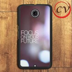 Blurred Quotes Nexus 5,Nexus 6,Nexus 7 Case