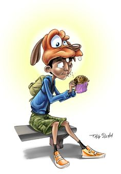 Day 4 Disney Tourist Sketches by T. Kyle Gentry, via Behance
