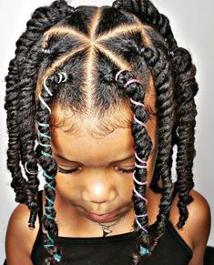 Little Girls Ponytail Hairstyles, Little Girl Ponytails, Black Toddler Hairstyles, Mixed Kids Hairstyles, Natural Hairstyles For Kids, Cute Girls Hairstyles, Kids Braided Hairstyles, Natural Hair Styles, Little Girl Twist Hairstyles Black