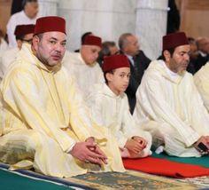 France : Le Roi Mohammed VI décore un imam, un rabbin et un évêque