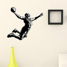 Wall Decal Vinyl Sticker Gym Sport Basketball Player Decor Sb189 ElegantWallDecals http://www.amazon.com/dp/B011L71F68/ref=cm_sw_r_pi_dp_wMiYvb0P7Y9CG