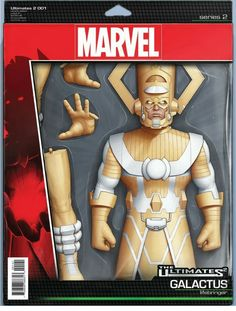 Ultimates 2 #1 Variant Galactus Action Figure Cover John Tyler Christopher