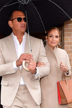 Jennifer Lopez and Alex Rodriguez Are Already Wearing Matching Outfits!