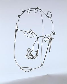 Alexander Calder self portrait