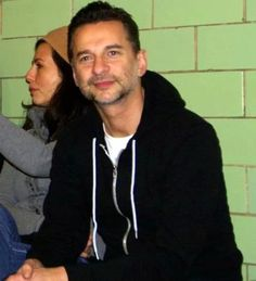 Dave Gahan and his wife, Jennifer Skliás Gahan...what a beautiful couple!
