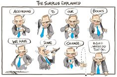 Cartoon: Surplus explained - Politics - NZ Herald News