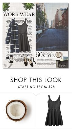 """60-Second Style: Work Wear"" by preciouspearll ❤ liked on Polyvore featuring Gosh, H&M, Chanel, Monki, Chicnova Fashion, WorkWear and 60secondstyle"