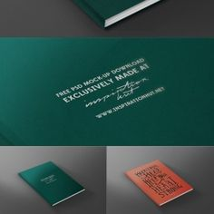 Magazine / Book Front Cover Mock-up Template PSD File