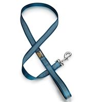 This Teal Blue Reflective Dog Leash would go great with the Teal Blue Reflective Dog Collar