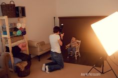 Photography studio lighting set up for mini-sessions with toddlers — Ann Wo Photography
