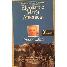 EL COLLAR DE MARÍA ANTONIETA NÉSTOR LUJÁN