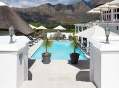 Mont Rochelle Hotel & Vineyard, Franschhoek, South Africa The latest addition to Sir Richard Branson's hotel collection is a renovated grand estate house with 22 rooms on a vineyard in Franschhoek Branson Hotels, Clifton Beach, Cape Town Hotels, Hotel Specials, Destin Hotels, Best Spa, Luxury Accommodation, Top Hotels, Amazing Architecture