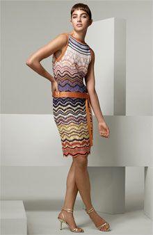 more missoni. Knit Dress, Dress Skirt, Dress Up, Knitwear Fashion, Knit Fashion, Sweater Knitting Patterns, Lace Knitting, Missoni, Vestido Multicolor
