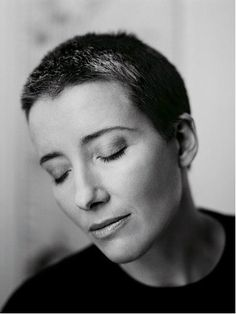 Emma Thompson. Such a brilliant actor, and a wonderful example of a woman not letting the fact that she's over 25 stop her doing interesting and creative projects. Also, CHEEKBONES.