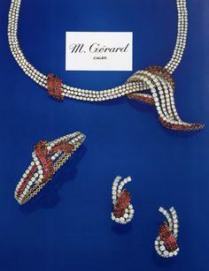 M. GERARD. #HighJewelry #Diamond #Ruby