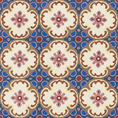 STOCK online shop | Encaustic cement tiles | MOSAIC del SUR Mosaic Del Sur, Floral Texture, Mosaic Wall Tiles, Patio Interior, Tile Floor, Miniatures, Kids Rugs, Flooring, Alicante