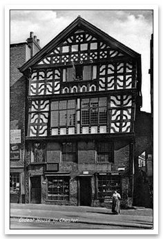 Tudor House Lower Bridge Street Chester 1603 One Of The Oldest Houses