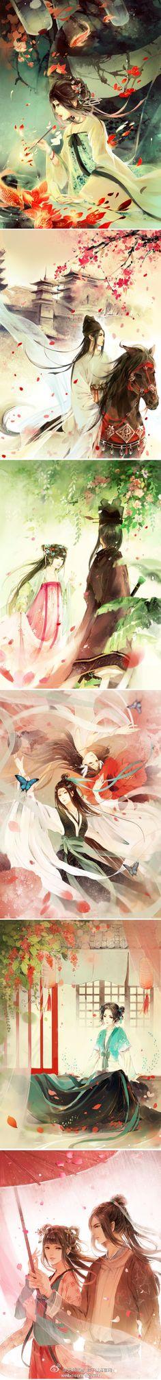 91bd7092dfaaae2d5e3db3a70e819b17f936ce8e98ee3-mNCmIl_fw658 (440×3753) Illustrations, Graphic Illustration, Manga Art, Anime Art, Chinese Painting, Chinese Artwork, Japanese Artwork, China Art, Human Art