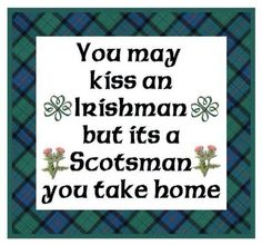 Irishmen vs. Scotsmen