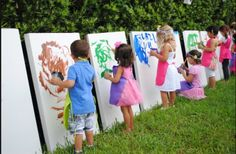 Painters' Party in the Park