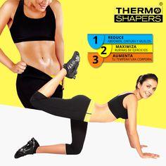 59,99€ Conjunto de Top y Pantalones térmicos Thermo Shaper. ¡Aumenta la temperatura corporal permitiendo que tu cuerpo sude más! Bra, Sports, Fashion, Enabling, Pants, Tejidos, Style, Hs Sports, Moda