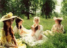 books. pretty dresses. nature. = ALLISON lets start our book club!