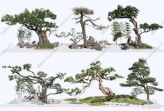 3d Tree Colection Model By Kha Vi 3d Tree, Trees To Plant, Plants, Model, Outdoor, Outdoors, Tree Planting, Scale Model