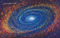 swirling mass of energy -vortex