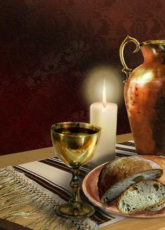 """and when He had given thanks, He broke it and said, """"Take, eat; this is My body which is broken for you; do this in remembrance of Me."""" In the same manner He also took the cup after supper, saying, """"This cup is the new covenant in My blood. This do, as often as you drink it in remembrance of Me."""" I Cor. 24-25"""