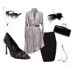 Silvery Black, created by cdsetliff.polyvore.com