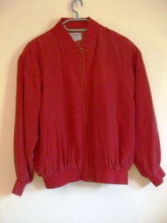 Seiden Jacket, rot